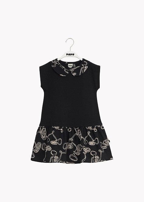 Jersey Collar Dress