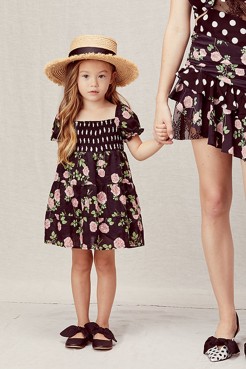 Ivy Mix Print Dress