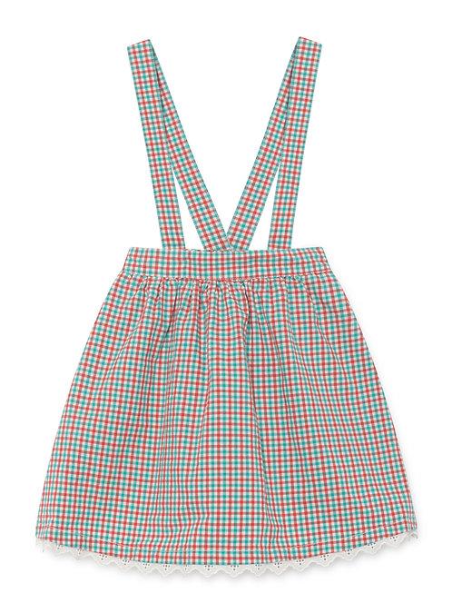 Vichy Braces Skirt