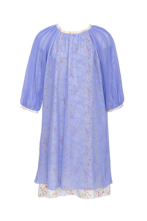 Cotton Tulle Dress Ora