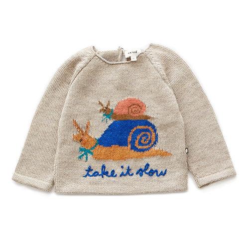 Raglan Sweater-Take It Slow