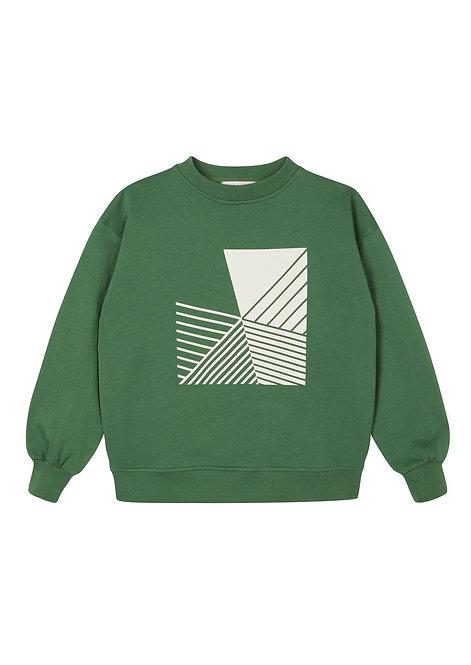 Duck Green  Oversized Sweatshirt