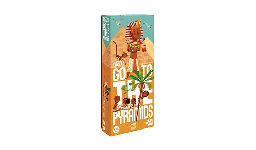 Go To The Pyramids Puzzle
