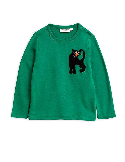 Set Of Panther Wool Sweatshirt & Trousers