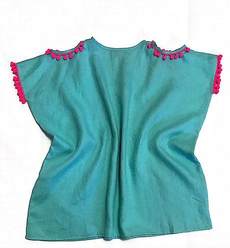 Bare Shoulder Linen
