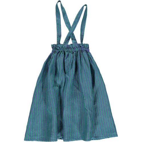 Colmar Straps Skirt Green/Blue