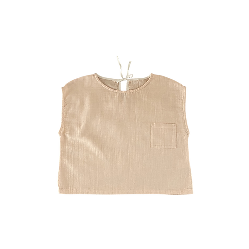 Pocket Shirt - Nude