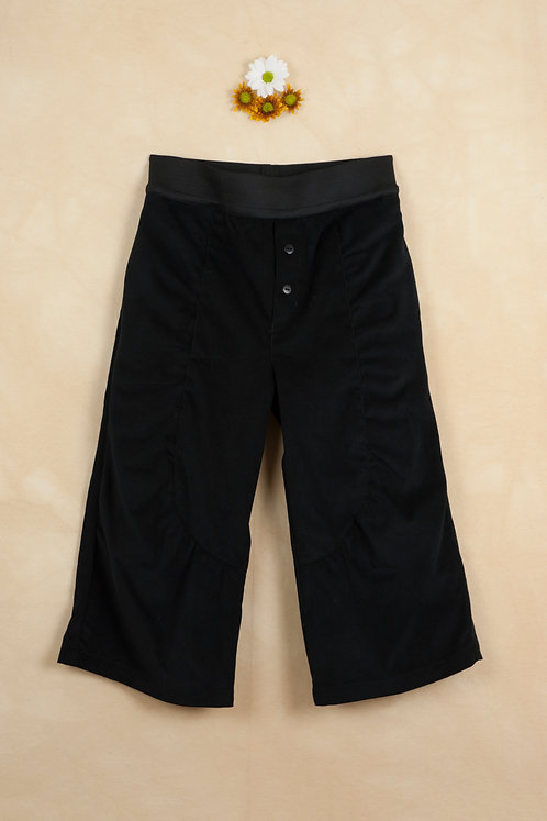 Black Culotte Trousers