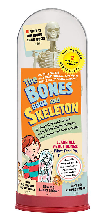 The Bones Book + Skeleton