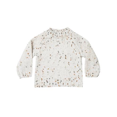 Set Of Pom Chenille Sweater & Bloomer