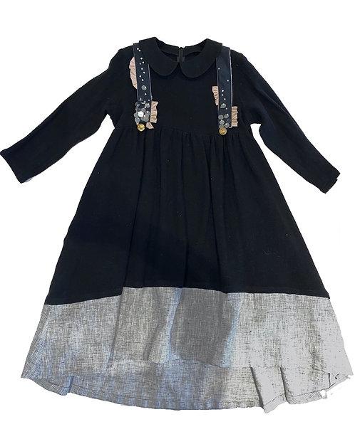Sheikha Dress- Black