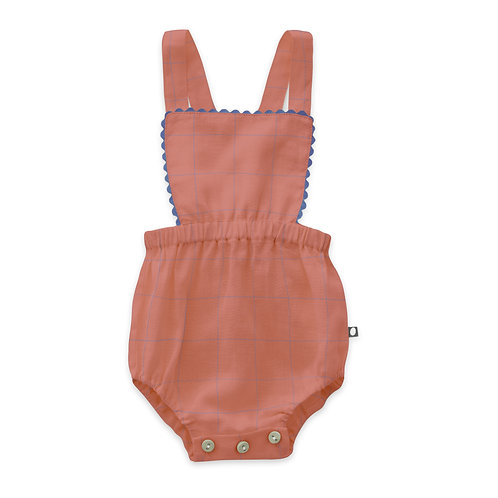 Punch Pink Ric Rac Playsuit