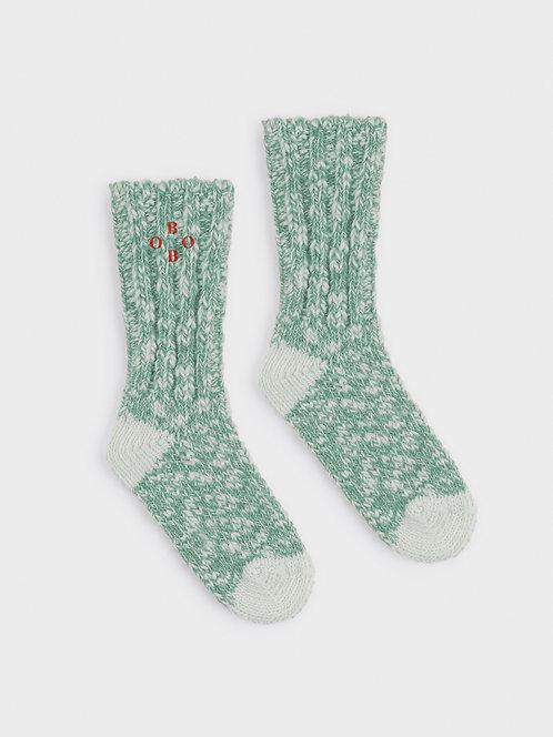 Green Bobo Thick Socks