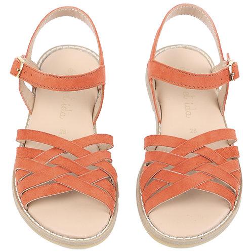 Orange Sandales