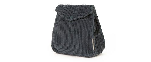 Baltazar Corduroy Pale Blue Bag & Clemete Bordeaux Belt