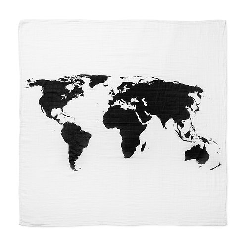 Muslin-World Map