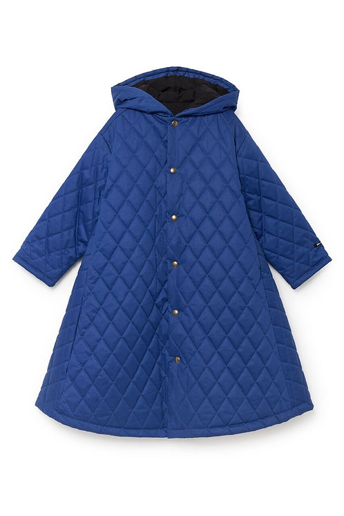 Hooded Quilted Cape Cotton Relleno