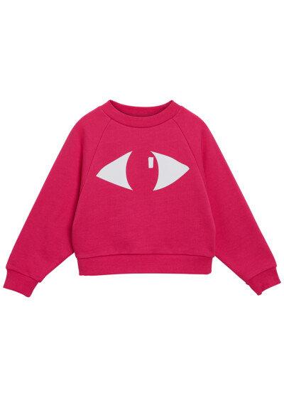 Set Of A Sweatshirt and Pants- Pink