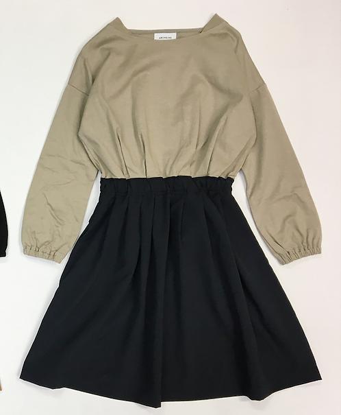 Compression Bi Color Dress