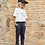 Thumbnail: Organic Flame T-Shirt & Trousers Set
