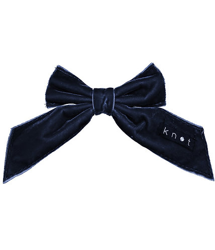 Barre Bow -Navy