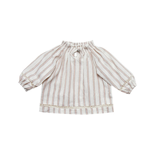 Stripe Quincy Blouse