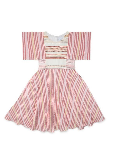 Aster Multi Stripes Dress