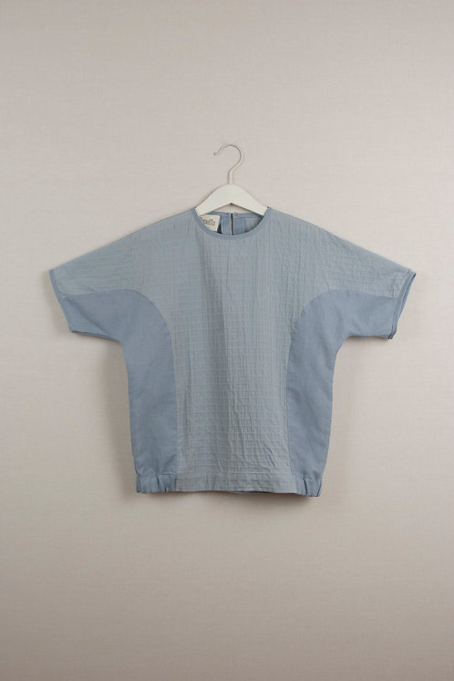 Blue Two Tone Shirt
