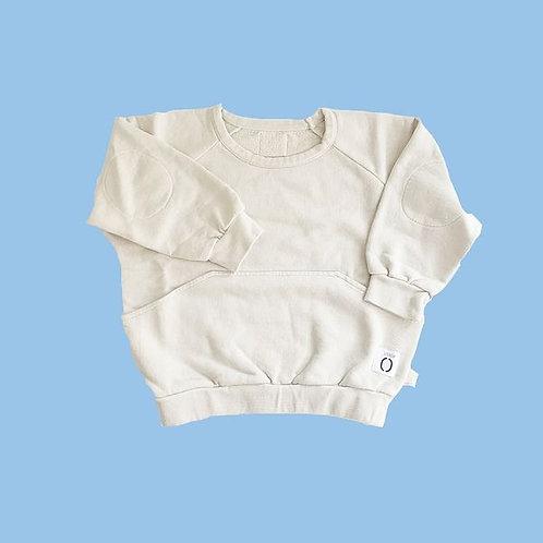 Sweater & Bermudas Set - Oatmilk
