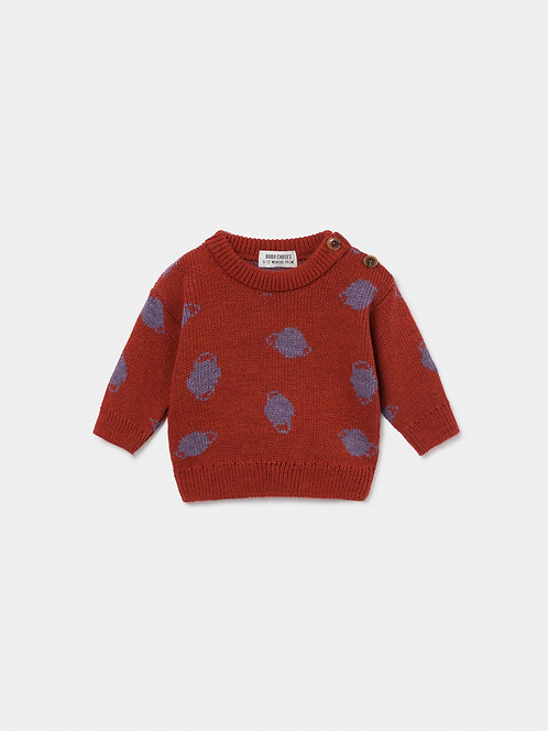 Small Saturn Jacquard Jumper