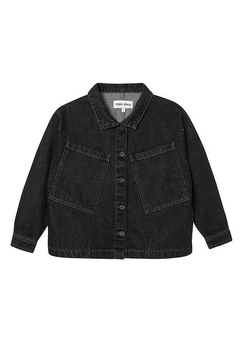 Oversized Workers Style Jacket