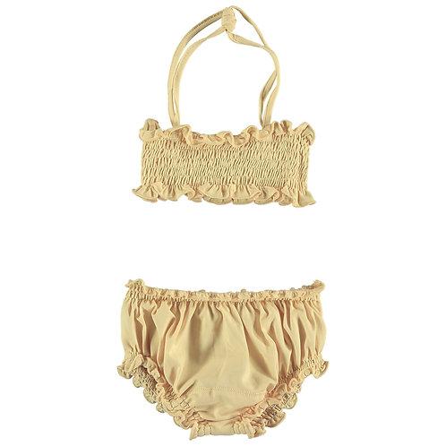 Smocked Bikini Set