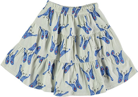 Skirt Glòria Blue Birds