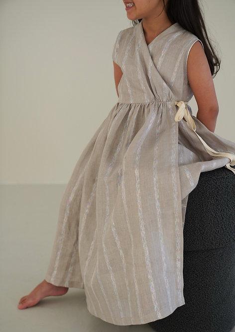 Metallic Stripes / Beige