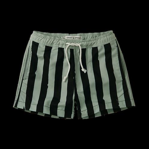 Swim Short- Painted Stripe