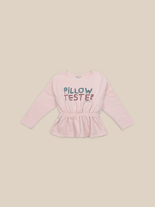 Pillow Tester Girl Sweatshirt