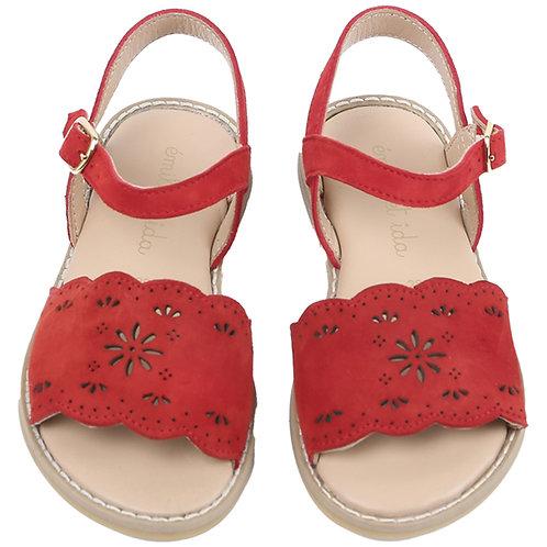 Coquelicot Sandales