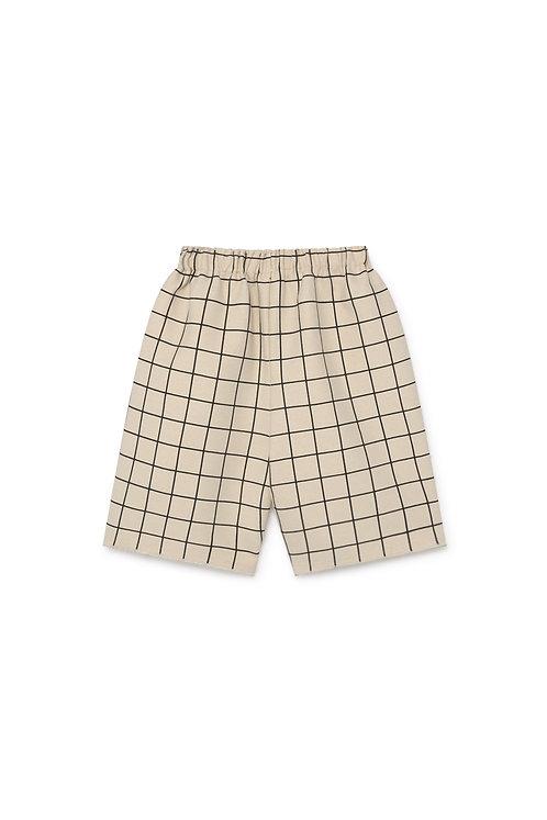 Plaid Baggy Short Pants