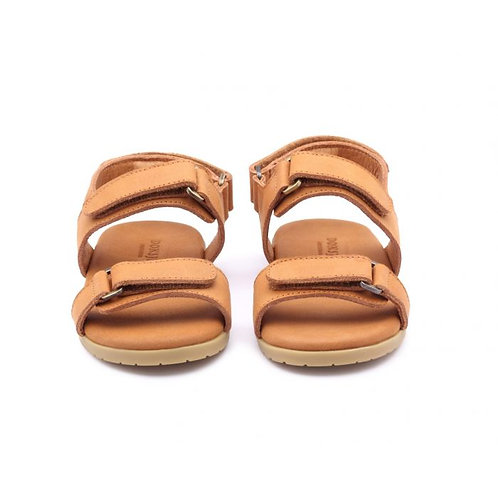 Topo- Caramel Leather