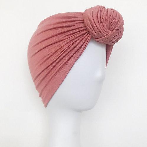 Glam Knot Turbans- Mauve