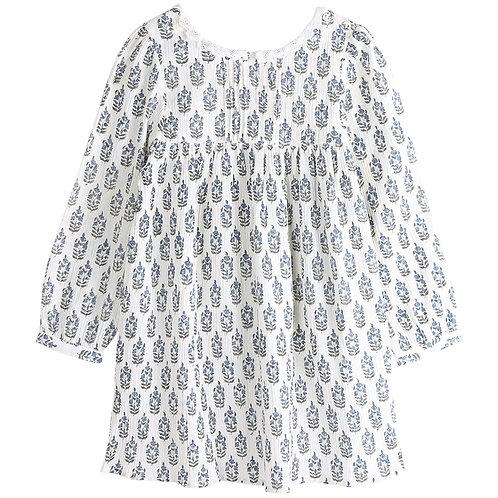 Ecru Long Sleeved Dress
