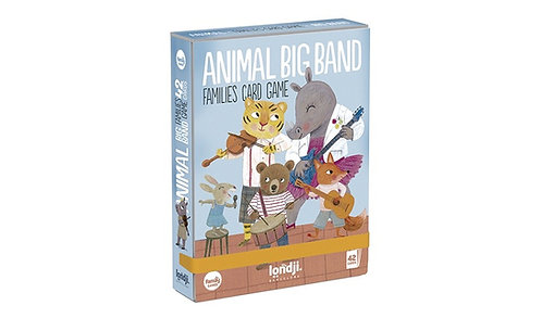 Animal Big Band Card Game