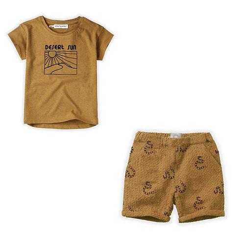 Desert Sun T-Shirt & Short Set