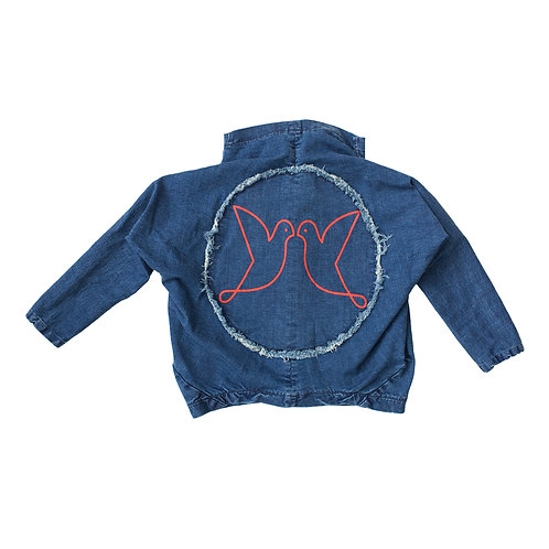Bird Denim Jacket