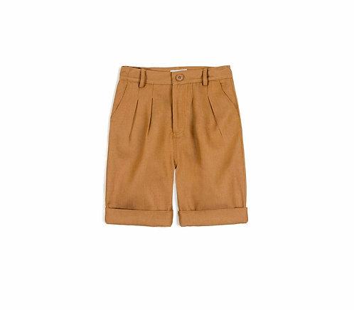 Tadeu Ocre Shorts