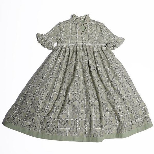 Carriage Smock Maxi- Bean