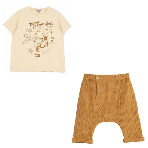 Vanille Tee and Pants Set