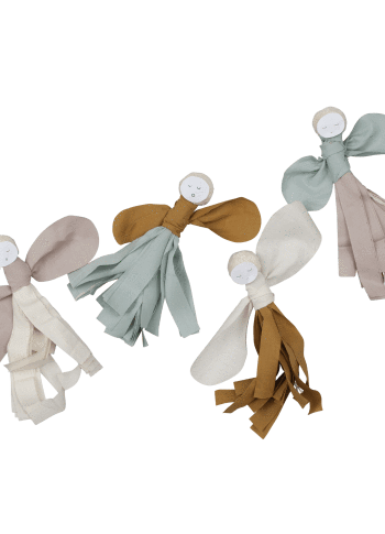 Tassle Fairy Decor Craft