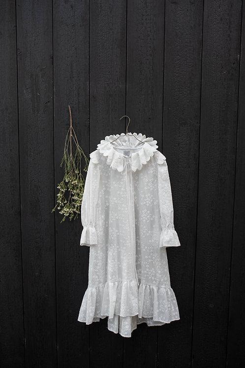 Celia Dress- Ivory Embroidery