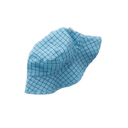 Kid  Hat Blue Checks